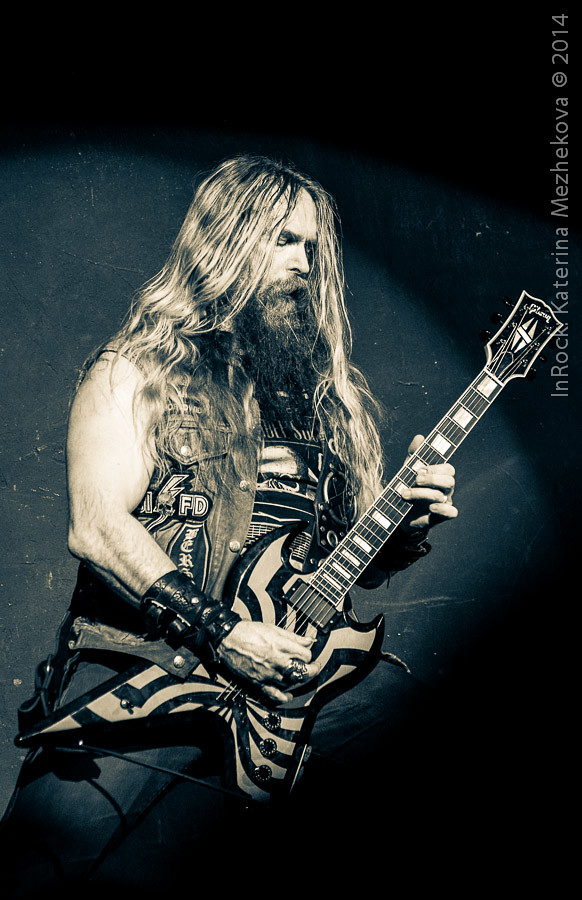 Zakk Wylde, Metal All Stars in Moscow