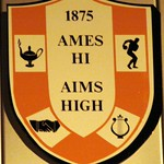 DSC06091 Ames Hi Aim High AHS Logo Ames High School Ames Iowa