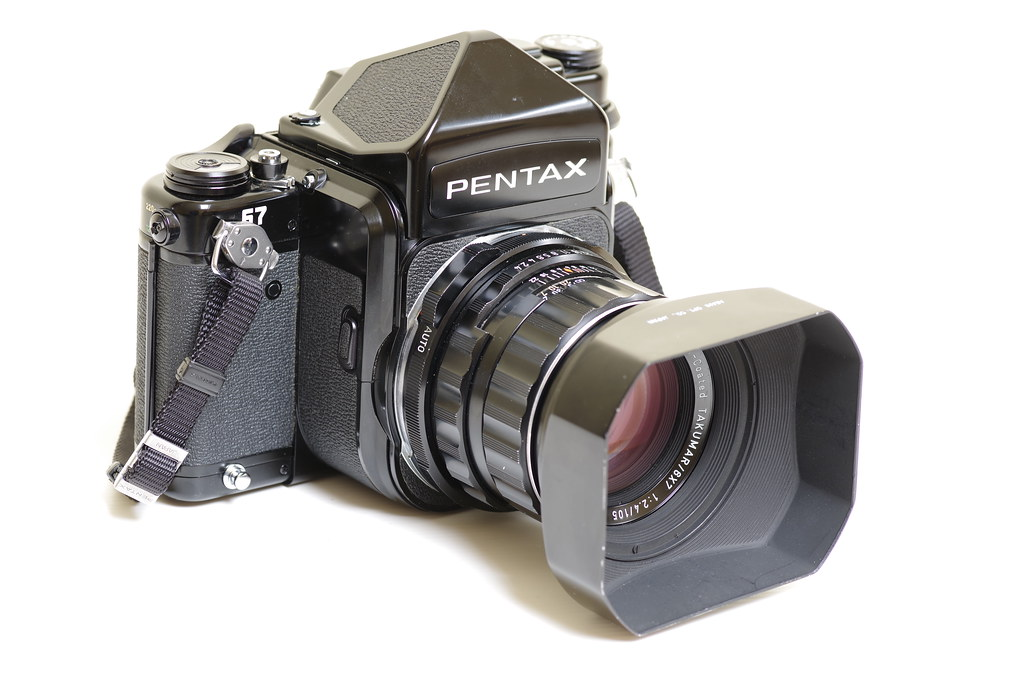 Pentax 67 | Medium format film camera which accepts 120 or 2… | Flickr