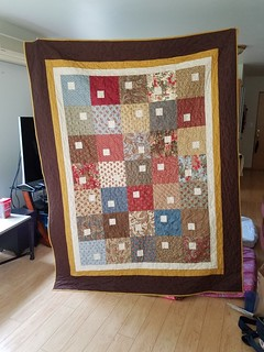 Quilt for a friend - front