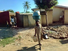 Woman heading to market in Adidome, Volta, Ghana #JujuFilms