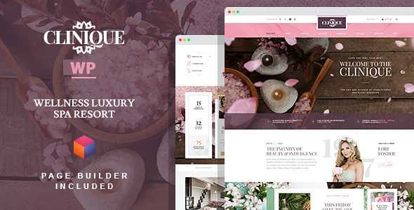 Clinique WordPress Theme free download