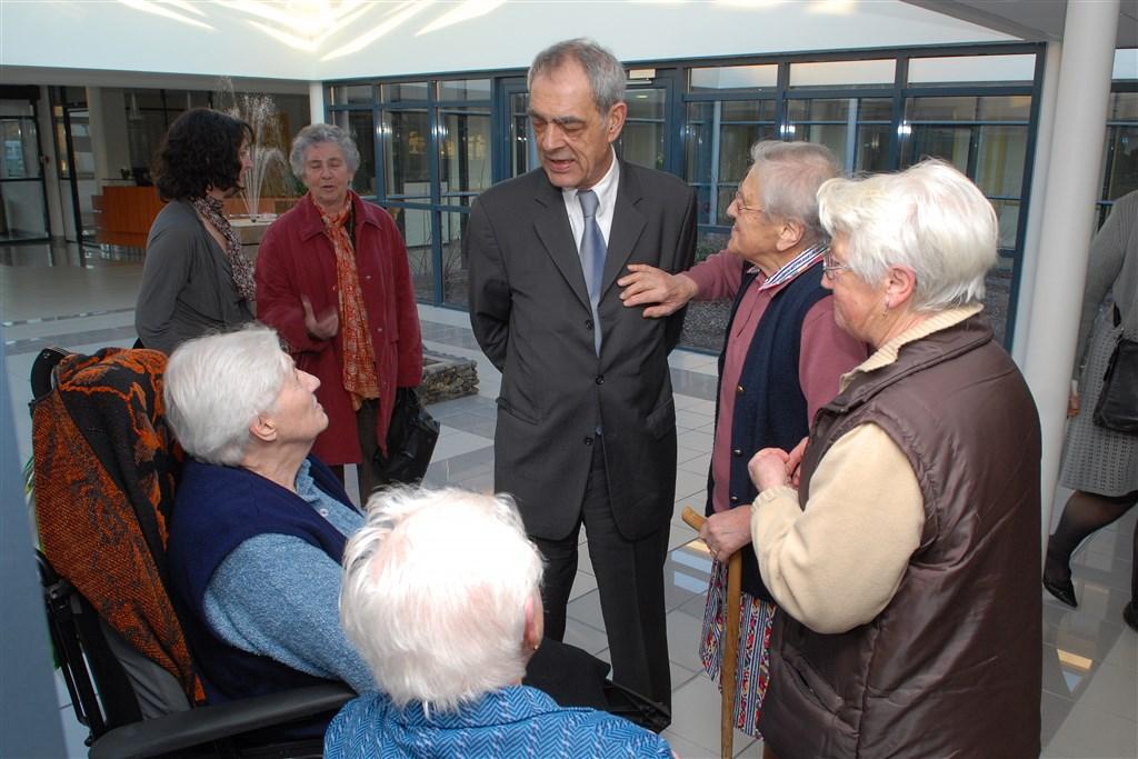 2008 - Inauguration de l'Ehpad ''Les Ajoncs'' à Gabarret