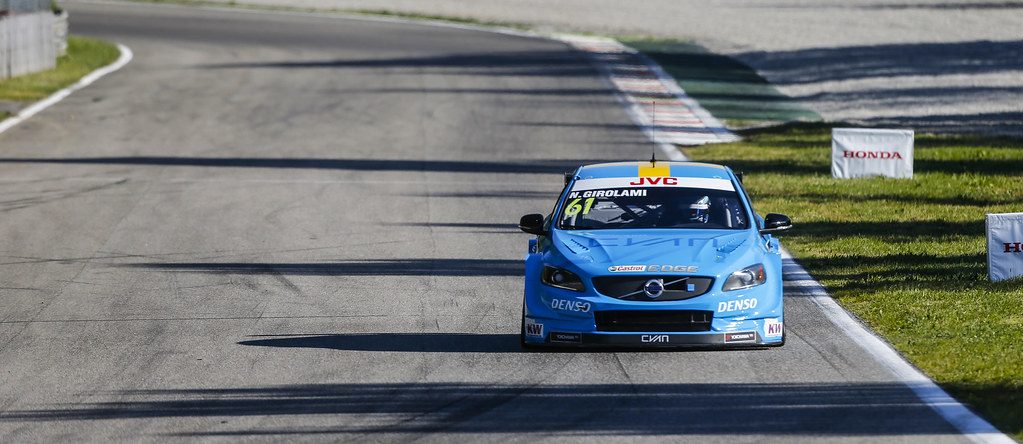61 GIROLAMI Nestor (arg) Volvo S60 Polestar team Polestar Cyan Racing action during the 2017 FIA WTCC World Touring Car Race of Italy at Monza, from April 28 to 30  - Photo Francois Flamand / DPPI