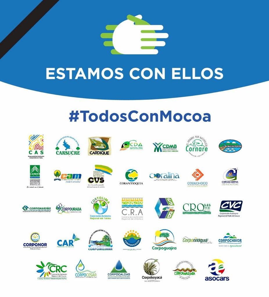 Autoridades Ambientales Regionales del país se solidarizan con Mocoa