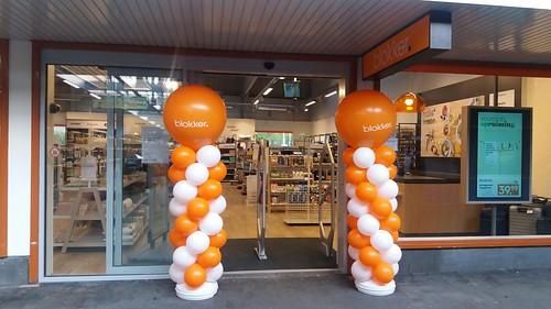 Ballonpilaar Breed Rond Opening Blokker Utrecht