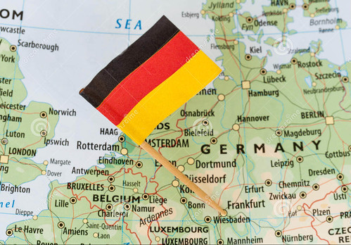 germany-flag-map-