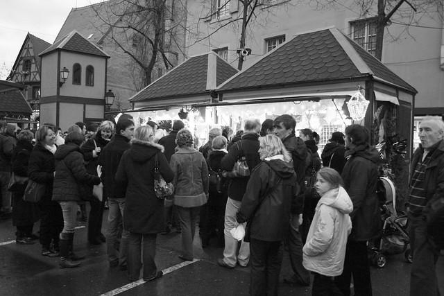 La ville de Colmar en période de Noël (Alsace, Haut-Rhin, France)