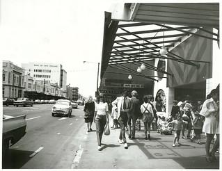 "Hamilton, Victoria Street. Hamilton's ""Golden Mile"" shopping street"