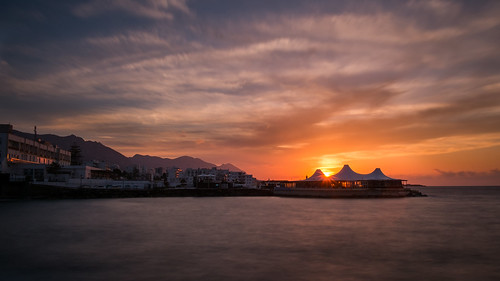 landscape view sunset sea longexposure fujifilm xe1 xf18mmf2 kyrenia cyprus outdoor