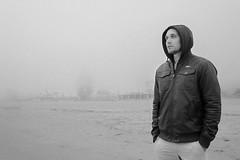 Coney Island Beach Fog