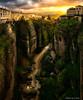 Ronda, view from Puente Nuevo