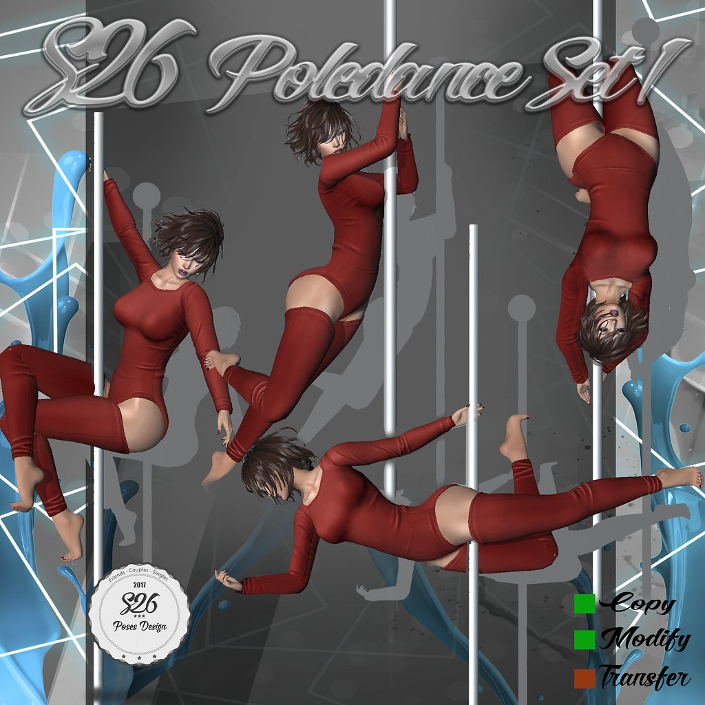 *** NEW *** S26 POLEDANCE SET 1 - SecondLifeHub.com