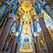 Inside Sagrada Familia by Stuck in Customs