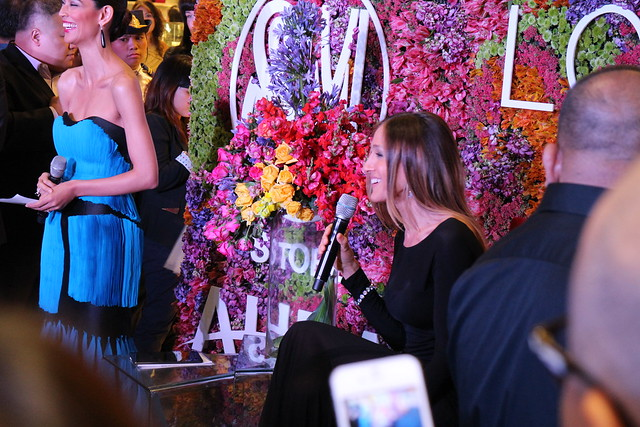 Sarah Jessica Parker at SM Aura