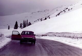 Colorado   -   Loveland Pass   -   Eisenhower Tunnel   -   March 1983
