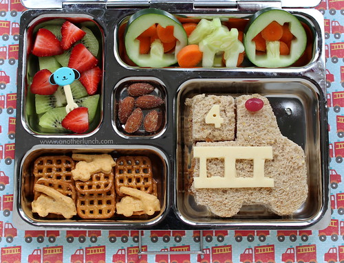 preschool Firetruck Fire Engine lunch