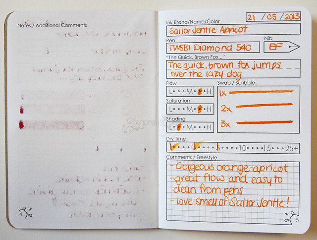 InkJournal Classic Notebook Sample