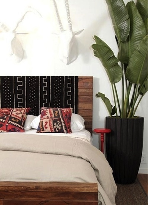 Decorating With Mudcloth Aphrochic Modern Soulful Style