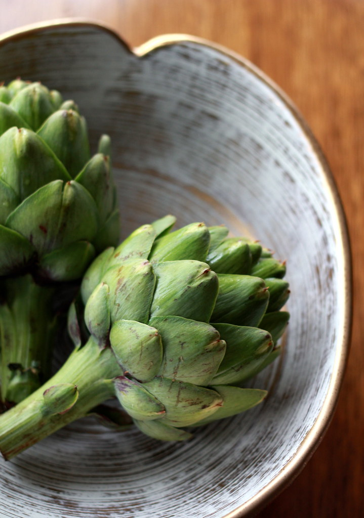 Grilled Artichokes with Lemon-Thyme Aioli by Lauren Craig | Epicurious ...