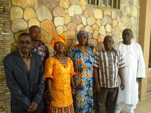 Agro-economists from CORAF, Togo, Mali and Niger