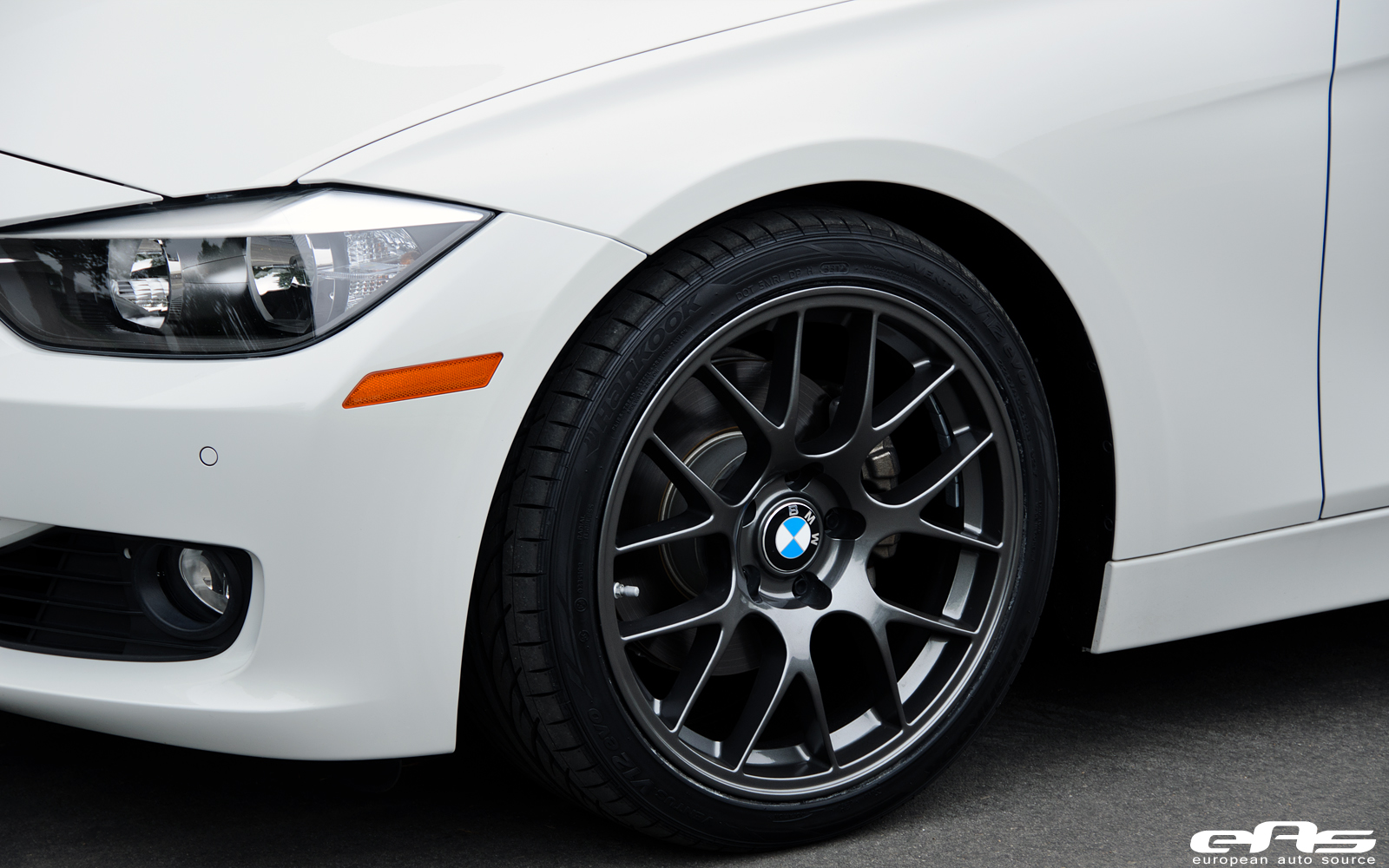 Alpine White F30 328i On Apex Ec 7 Wheels