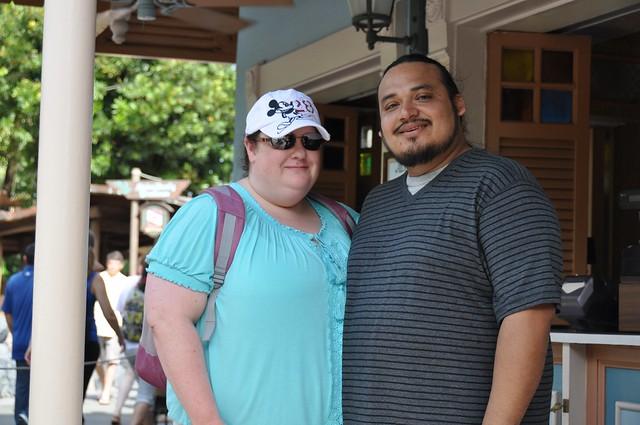 Becks and Carlos Aloha Isle