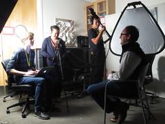 SIASI kids interviewing Bart