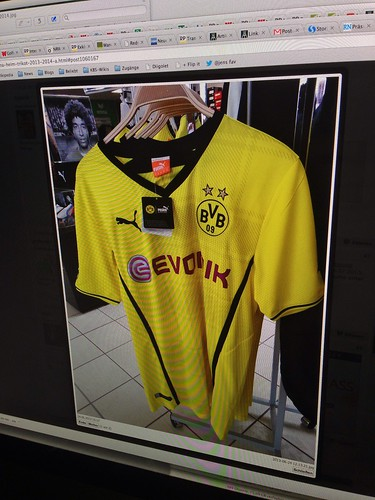 Borussia Dortmund (BVB) - Heimtrikot 2013/2014 ? (Screenshot von soccer-fans.de)