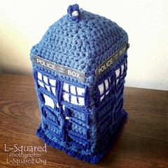 My TARDIS all finished.