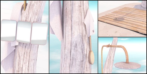 Close-ups of Botanicals Beach Shower @ The Home Show