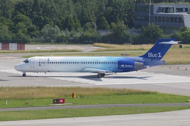 Blue 1 Boeing 717-2CM; OH-BLH@ZRH;06.07.2013/713cn