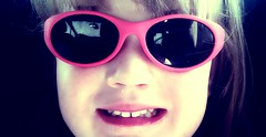 nose, glasses, eyewear, vision care, face, tooth, cool, head, close-up, mouth, pink, smile, sunglasses, organ,