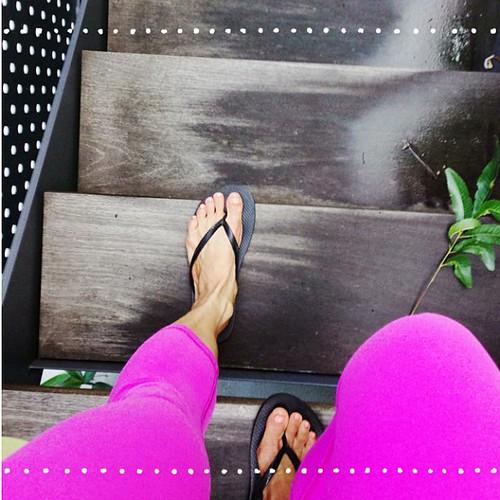 1/30. Pink+yoga=#abeautifulmess #selfie #latergram #lululemon