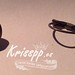 Pendientes fimo y pan de oro by krisspp
