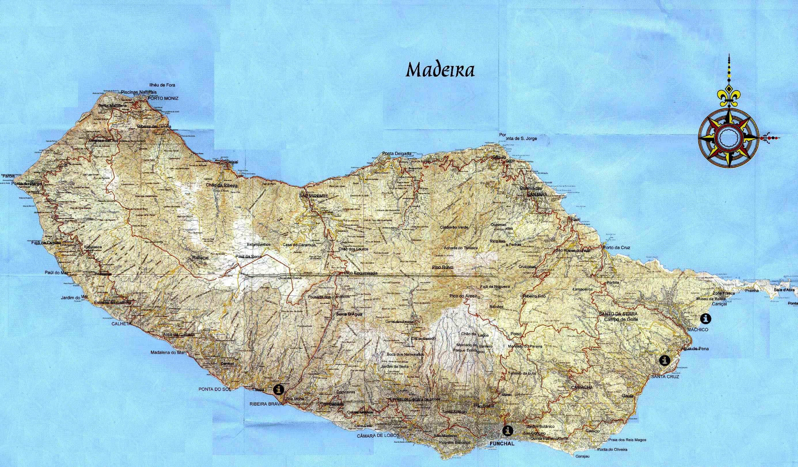 mapa madeira satelite Madeira Wonders mapa madeira satelite