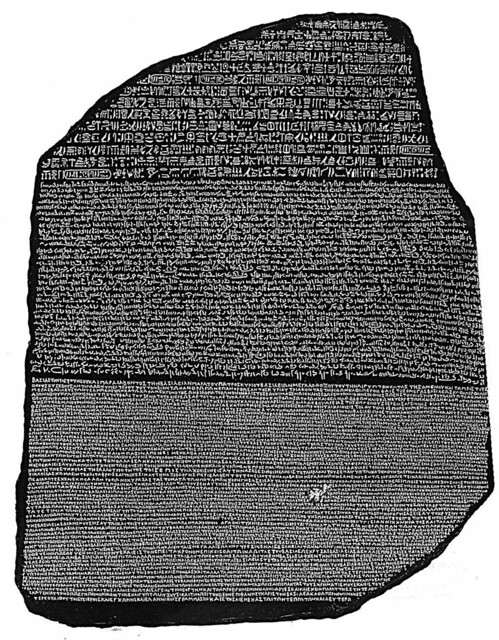 Cracking the code: the Rosetta Stone and the decipherment of ancient Egyptian hieroglyphic writing