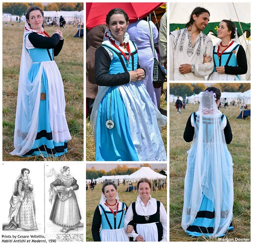 16th Century Artisan Class Dress