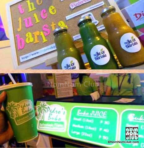 The Juice Barista & Pedro's Buko