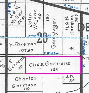 120 acres in Sec. 20