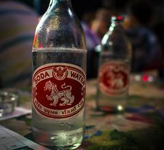 Singha brand soda water
