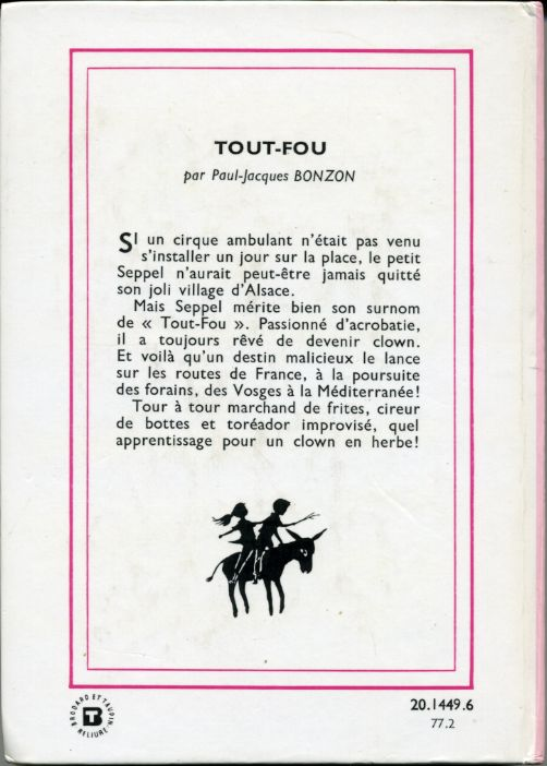 Tout-Fou, by  Paul Jacques BONZON