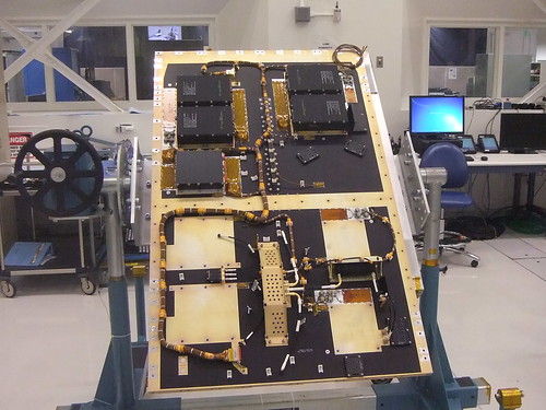 Electronics panel for SMAP