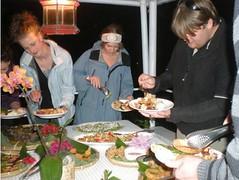 低碳餐飲 - 連外國遊客也喜歡(社頂部落發展文化促進會 提供)