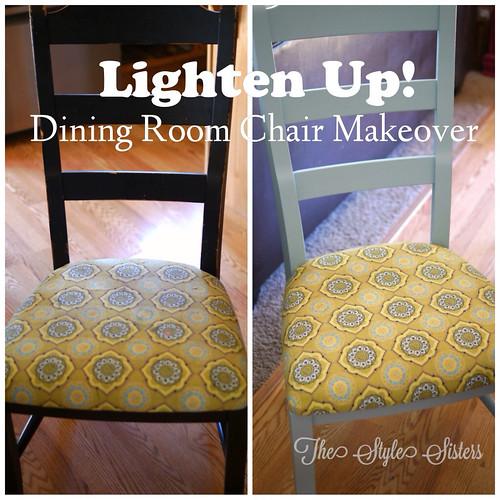 Lighten Up! Dining Room Chair Makeover