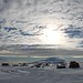 Small photo of Antarctica: Mt Erebus from Pegasus Airfield