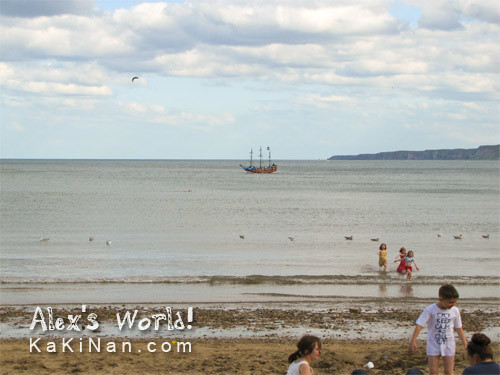 Scarborough: Pirates Ship at Shore