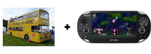 Rogue Legacy Vita Bus