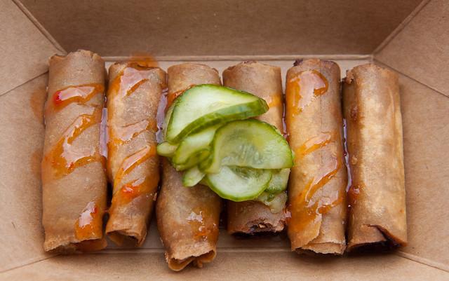 Original pork spring roll, Lumpia Shack