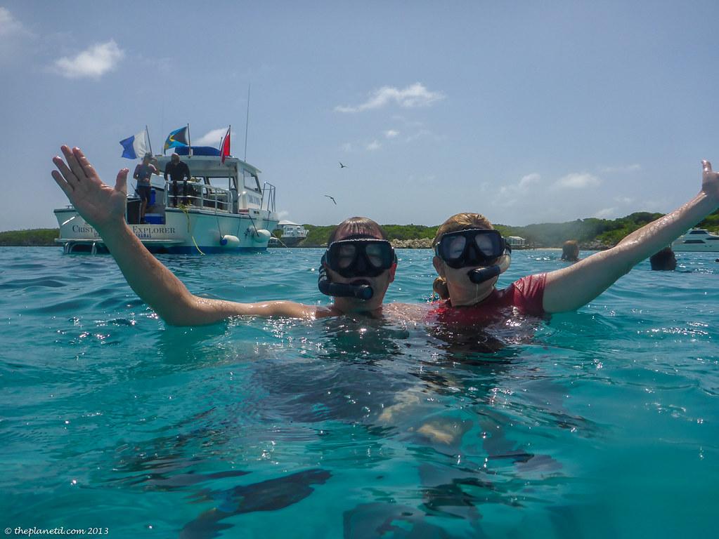 snorkelling exumas